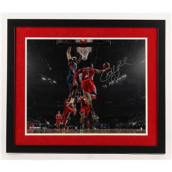 "Chris Paul Signed 2013 All-Star Game 22x26 Custom Framed Photo Inscribed ""'13 AS MVP"" (Steiner COA)"