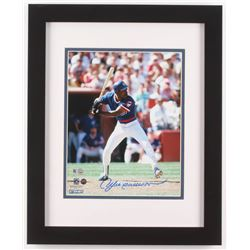 Andre Dawson Signed Chicago Cubs 13x16 Custom Framed Photo Display (Steiner Hologram  MLB Hologram)