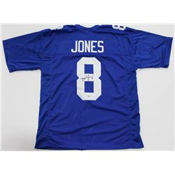 Daniel Jones Signed New York Giants Jersey (Beckett COA)