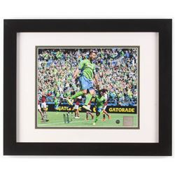 Clint Dempsey Signed Seattle Sounders 13x16 Custom Framed Photo Display (Steiner COA)