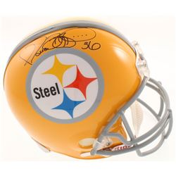 Jerome Bettis Signed Pittsburgh Steelers Full-Size Throwback Helmet (JSA COA)