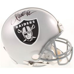 Marcus Allen Signed Oakland Raiders Full-Size Authentic On-Field Helmet (Beckett COA)