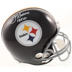 "Joe Green Signed Pittsburgh Steelers Full-Size Throwback Helmet Inscribed ""HOF 87"" (Radtke COA)"