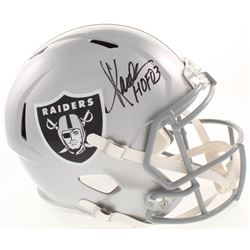 Marcus Allen Signed Oakland Raiders Full-Size Speed Helmet (Allen Hologram)