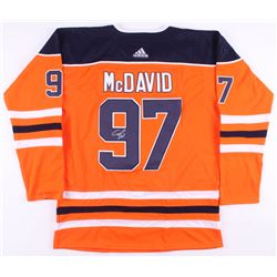 Connor McDavid Signed Edmonton Oilers Captains Jersey (JSA ALOA)