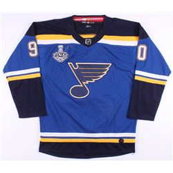 Ryan O'Reilly Signed 2019 Stanley Cup Finals St. Louis Blues Jersey (JSA COA)