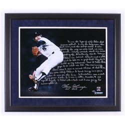 Goose Gossage Signed New York Yankees 22x26 Custom Framed Photo with Extensive Inscriptions (Steiner