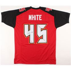 Devin White Signed Tampa Bay Buccaneers Jersey (Beckett COA)