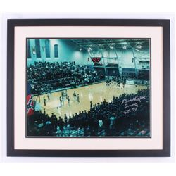 "Bob Knight Signed Army Black Knights 22x26 Custom Framed Photo Inscribed ""Army""  ""65-71"" (Steiner CO"