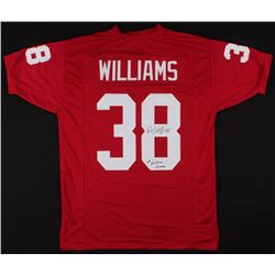 "Roy Williams Signed Oklahoma Sooners Jersey Inscribed """"00"" National Champs"" (JSA COA)"