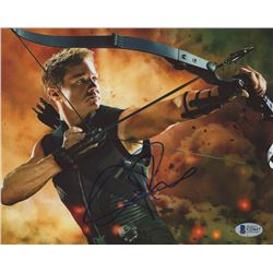 "Jeremy Renner Signed ""The Avengers"" 8x10 Photo (Beckett COA)"
