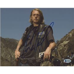 """Charlie Hunnam Signed """"Sons of Anarchy"""" 8x10 Photo (Beckett COA)"""