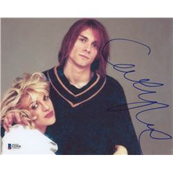 Courtney Love Signed 8x10 Photo (Beckett COA)