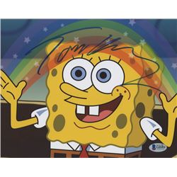 "Tom Kenny Signed ""SpongeBob SquarePants"" 8x10 Photo (Beckett COA)"