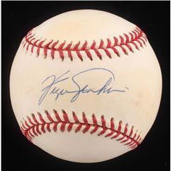 Ferguson Jenkins Signed ONL Baseball (Beckett COA)