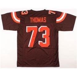 Joe Thomas Signed Cleveland Browns Jersey (Schwartz COA)