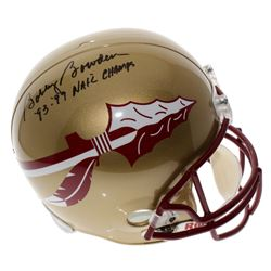 """Bobby Bowden Signed Florida State Seminoles Full-Size Helmet Inscribed """"'93-'99 Nat'l Champs"""" (PSA H"""