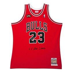 Michael Jordan Signed Chicago Bulls Limited Edition 1997-98 NBA Finals Jerey (UDA COA)