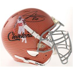 Jarvis Landry Signed Cleveland Browns Full-Size Authentic On-Field Hydro Dipped Helmet (JSA COA)