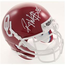 Roy Williams Signed Oklahoma Sooners Mini Helmet (JSA COA)