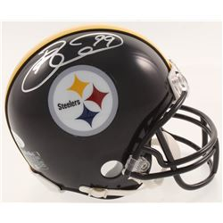 Brett Keisel Signed Pittsburgh Steelers Mini-Helmet (JSA COA)