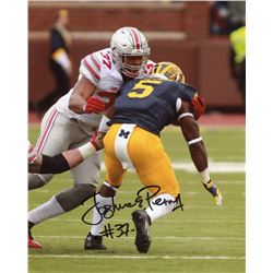 Joshua Perry Signed Ohio State Buckeyes 8x10 Photo (Sports Collectibles Hologram)