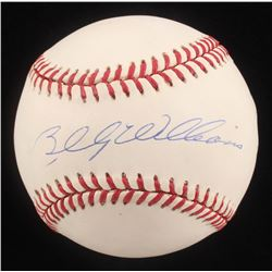 Billy Williams Signed ONL Baseball (Beckett COA)