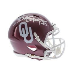 Bob Stoops Signed Oklahoma Sooners Mini Helmet (Sports Collectibles Hologram)