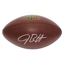 Jake Butt Signed NFL Football (JSA COA)