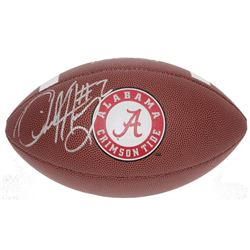 Derrick Henry Signed NCAA Alabama Crimson Tide Logo Football (Sports Collectibles Hologram)