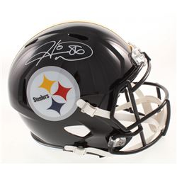 Hines Ward Signed Pittsburgh Steelers Full-Size Speed Helmet (JSA COA)