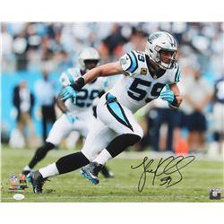 Luke Kuechly Signed Carolina Panthers 16x20 Photo (JSA COA)