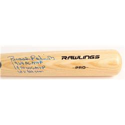 "Brooks Robinson Signed Rawlings Pro Model Baseball Bat Inscribed ""1964 AL MVP"", ""1970 WS MVP""  ""18x"