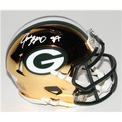 Jace Sternberger Signed Green Bay Packers Chrome Speed Mini-Helmet (JSA COA)