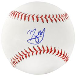Manny Machado Signed Baseball (Fanatics Hologram)