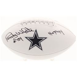 "Randy White Signed Dallas Cowboys Logo Football Inscribed ""HOF 94"" (JSA COA)"