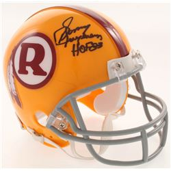 "Sonny Jurgensen Signed Washington Redskins Mini-Helmet Inscribed ""HOF 83"" (JSA COA)"