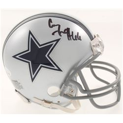 Connor McGovern Signed Dallas Cowboys Mini Helmet (JSA COA)