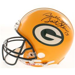 "Bart Starr Signed Green Bay Packers Full-Size Authentic Helmet Inscribed ""Best Wishes"" (JSA LOA)"