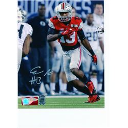 Eli Apple Signed Ohio State Buckeyes 8x10 Photo (Sports Collectibles Hologram  Apple Hologram)