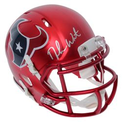 Deshaun Watson Signed Texans Blaze Speed Mini-Helmet (Beckett COA)