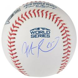 Steve Pearce Signed 2018 World Series Baseball (Fanatics Hologram)