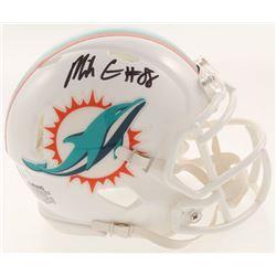 Mike Gesicki Signed Miami Dolphins Mini Speed Helmet (JSA COA)