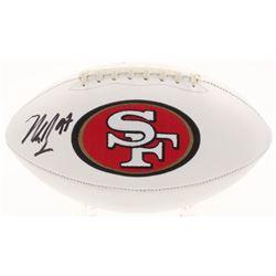 Nick Bosa Signed San Francisco 49ers Logo Football (Beckett COA)