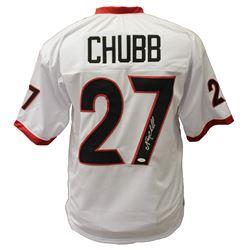 Nick Chubb Signed Georgia Bulldogs Jersey (JSA Hologram)