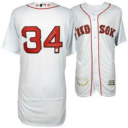 "David Ortiz Signed Boston Red Sox Jersey Inscribed ""Final All Star Game"" (MLB Hologram  Fanatics Hol"