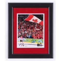 Scott Niedermayer Signed Team Canada 13x16 Custom Framed Photo Display (Steiner COA  Niedermayer Hol