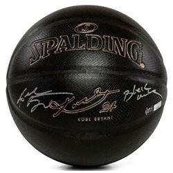 "Kobe Bryant Signed Custom Engraved Limited Edition Basketball Inscribed ""Black Mamba"" (Panini COA)"