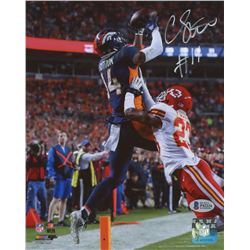 Courtland Sutton Signed Denver Broncos 8x10 Photo (Beckett COA)