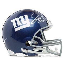 Saquon Barkley Signed New York Giants Full-Size Authentic On-Field Helmet (Panini COA)
